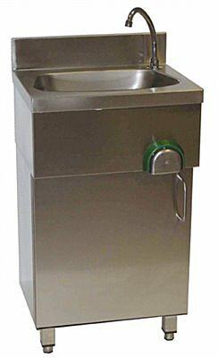 Handwaschbecken mit Unterschrank IP0080 500x400x850 mm-Gastro-Germany