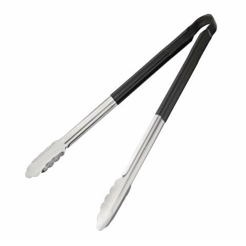 Servierzange schwarz 40,5cm