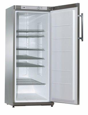 K 310 CHR Energiespar-Kühlschrank, 600x620x1630mm, EEK A+-Gastro-Germany