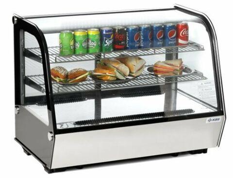 KBS Aufsatzkühlvitrine ASV 700 mit 2 Etagen, 702x568x686mm-Gastro-Germany