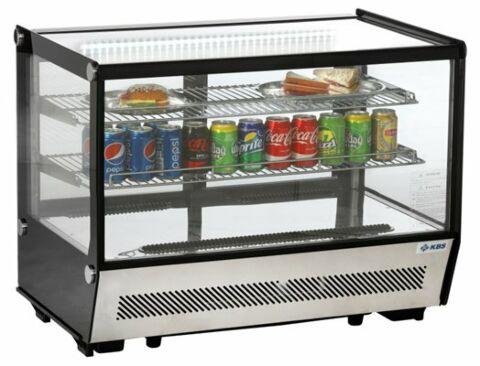 KBS Aufsatzkühlvitrine mit 2 Etagen, 230V, 880x568x686mm-Gastro-Germany