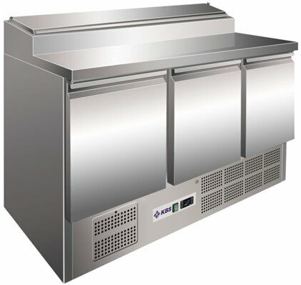 Saladette Belegstation 360, 1370x700x1006 mm-Gastro-Germany