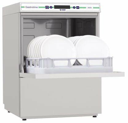 KBS Geschirrspülmaschine Gastroline 3505, Ablaufpumpe mit Wasserenthärter-Gastro-Germany