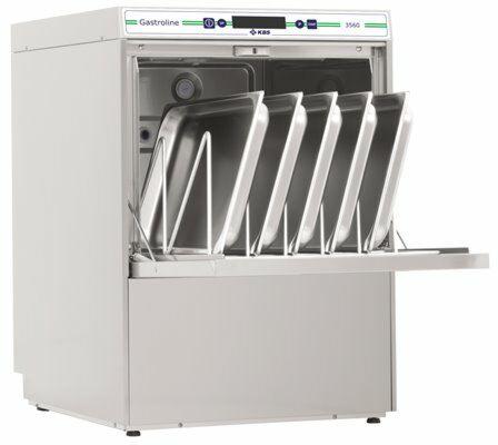KBS Geschirrspülmaschine Gastroline 3560, Ablaufpumpe mit Wasserenthärter-Gastro-Germany