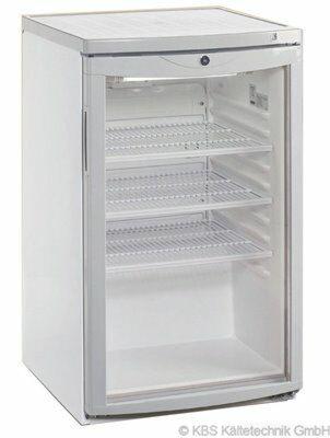 Glastürkühlschrank 145 U
