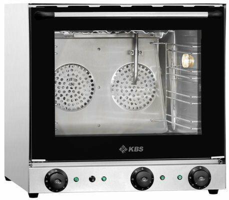 KBS Heißluftofen Premium mit Beschwadung, 2,7kW, für 4 Bleche 430x320mm-Gastro-Germany