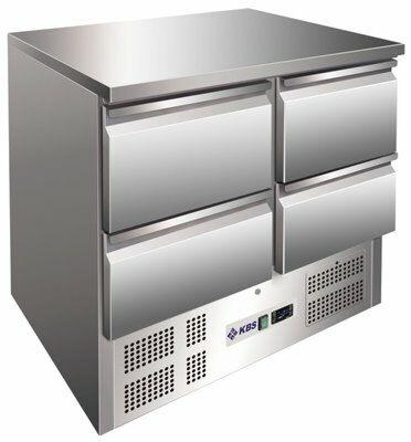 Kühltisch KTM 204, 903x700x875 mm EEK C-Gastro-Germany