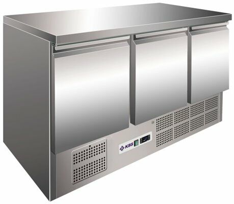 Kühltisch KTM 300, 1370x700x875 mm EEK C-Gastro-Germany