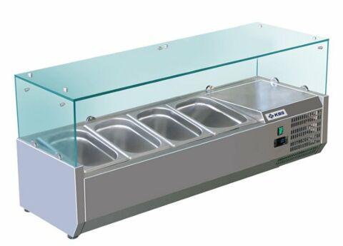 Kühlaufsatz RX 1200, 1200x395x430 mm, für 4x GN 1/3-Gastro-Germany