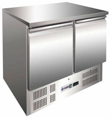 Kühltisch KTM 200, 903x700x875 mm EEK C-Gastro-Germany