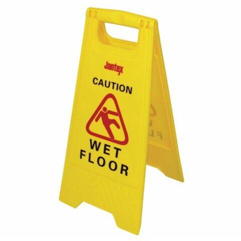 """Jantex Warnschild """"Wet floor""""-Gastro-Germany"""