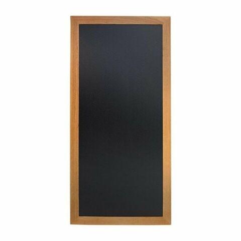 Lange Wandtafeln Teak Effekt, Schreibfläche: 110 x 46cm-Gastro-Germany