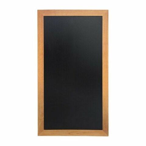 Lange Wandtafeln Teak Effekt, Schreibfläche: 90 x 46cm-Gastro-Germany