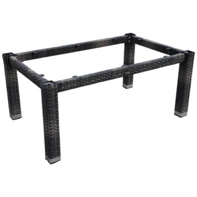 Lounge Tischgestell LINA für 120x80 cm Platten, rocca-Gastro-Germany