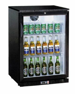 Glastürkühlschrank LG-138, 600x520x900 mm-Gastro-Germany