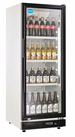 Flaschenkühler, 230 Liter, schwarz, 530 x 635 x 1442 mm-Gastro-Germany