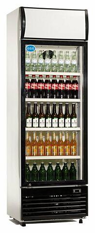 Flaschenkühler, 300 Liter Umluftkühlung, 620x635x1890mm-Gastro-Germany