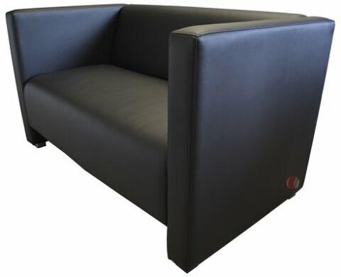 Lounge Bank Reka 125x70 cm, schwarz-Gastro-Germany