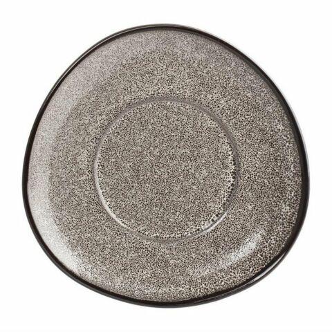 Olympia Mineral dreieckige Untertassen 15cm, Porzellan (6 Stück)-Gastro-Germany