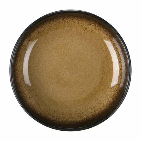 Olympia Nomi runde Dipschalen gelb-schwarz 9,5cm (12 Stück)-Gastro-Germany