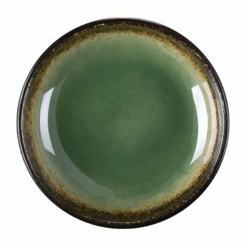 Olympia Nomi runde Dipschalen grün-schwarz 9,5cm (12 Stück)-Gastro-Germany