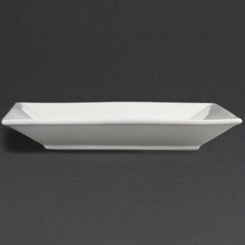 Olympia Teller quadratisch 25cm (6 Stück)-Gastro-Germany