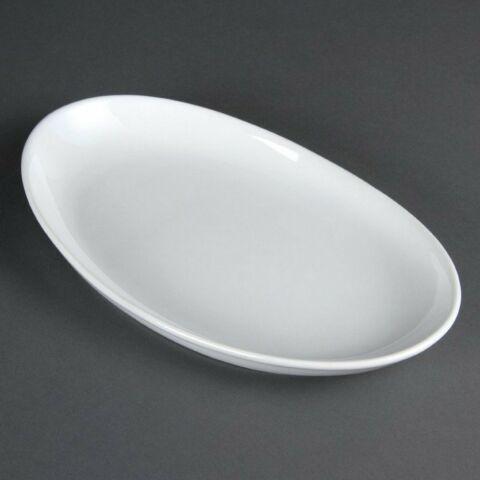 Olympia tiefe ovale Schale 36,5cm (2 Stück)-Gastro-Germany