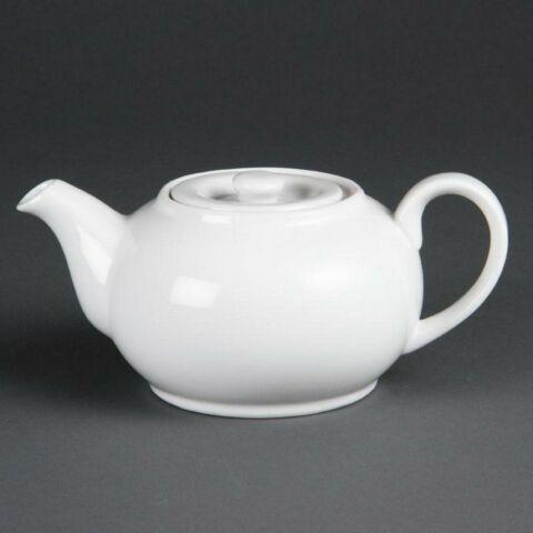 Olympia Whiteware Teekannen 42,6cl (4 Stück)-Gastro-Germany