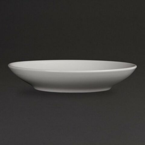 Olympia Whiteware tiefe Teller 20,5cm (6 Stück)-Gastro-Germany