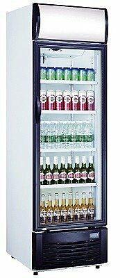 SARO Getränkekühlschrank mit Werbetafel GTK 382-Gastro-Germany