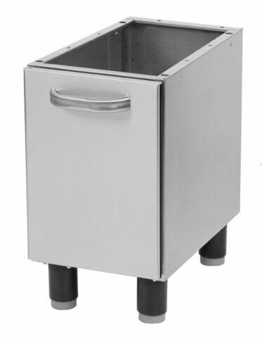 Unterschrank 330mm mit Tür für Geräte Bautiefe 600mm-Gastro-Germany