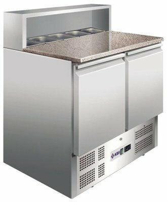 Pizzakühltisch/-Belegstation 900 PT, 901x700x1081 mm-Gastro-Germany
