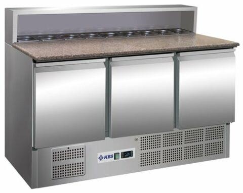 Pizzakühltisch/-Belegstation 901 PT, 1370x700x1090 mm-Gastro-Germany