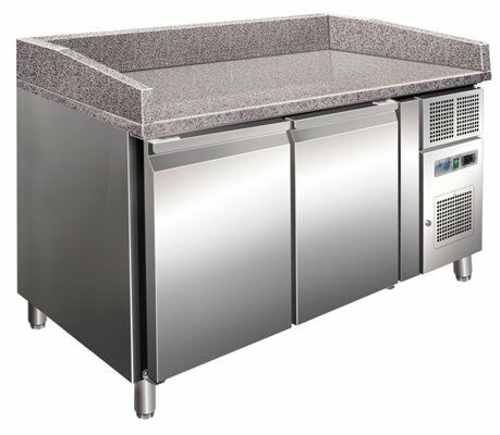 Pizzakühltisch 2600, 1510x800x1000 mm EEK B-Gastro-Germany