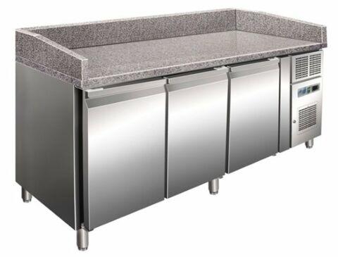 Pizzakühltisch 3600, 2020x800x1000 mm EEK C-Gastro-Germany