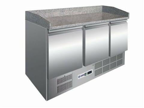 Pizzakühltisch 903 PT, 1400x700x1020 mm, EEK C-Gastro-Germany