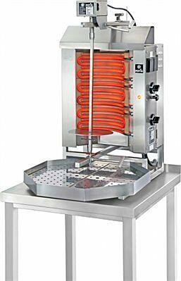 POTIS E1 Elektro Gyrosgrill Dönergrill Kebabgrill 15 kg, Höhe 795 mm-Gastro-Germany