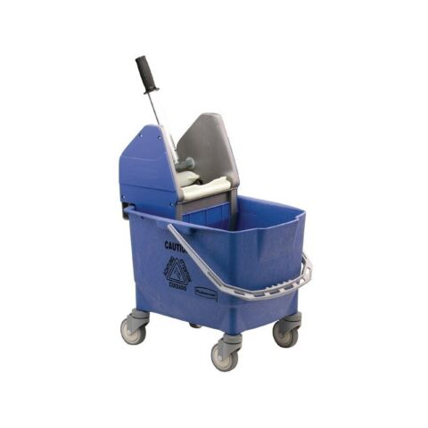 Rubbermaid Moppeimer mit Mopppresse blau 25L