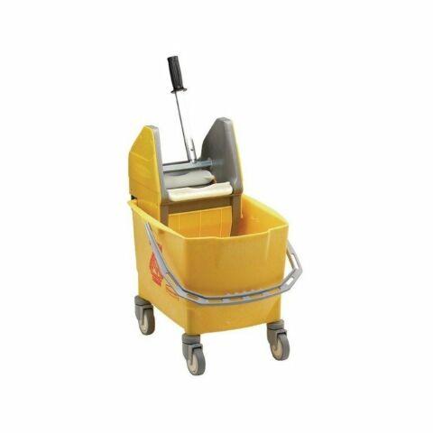 Rubbermaid Moppeimer mit Mopppresse gelb 25L