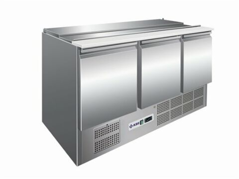 Saladette KBS 903, 1365x700x875 mm, 4x GN1/1-Gastro-Germany