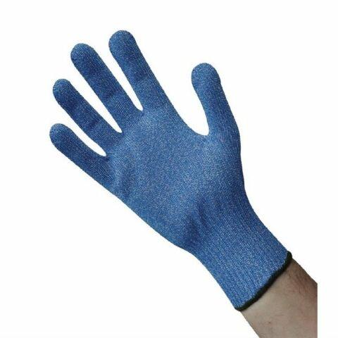 Schnittfester Handschuh blau, Größe:L-Gastro-Germany