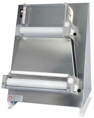 GAM Teigausroller Teigausrollmaschine 400mm für eckige Pizzen und Teig-Gastro-Germany