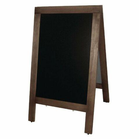 Kundenstopper Straßentafeln Holz, Schreibfläche: 86 x 56cm-Gastro-Germany