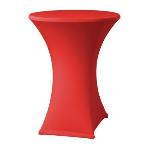 Tischhusse für Stehtische Samba D2 rot, 85cm-Gastro-Germany