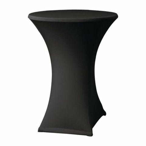 Tischhusse für Stehtische Samba D2 schwarz, 85cm-Gastro-Germany