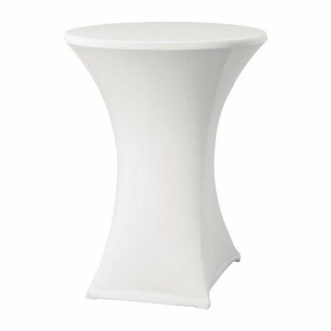 Tischhusse für Stehtische Samba D2 weiß, 85cm-Gastro-Germany