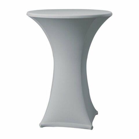 Tischhusse für Stehtische Samba grau , 85cm-Gastro-Germany