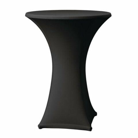Tischhusse für Stehtische Samba schwarz , 85cm-Gastro-Germany