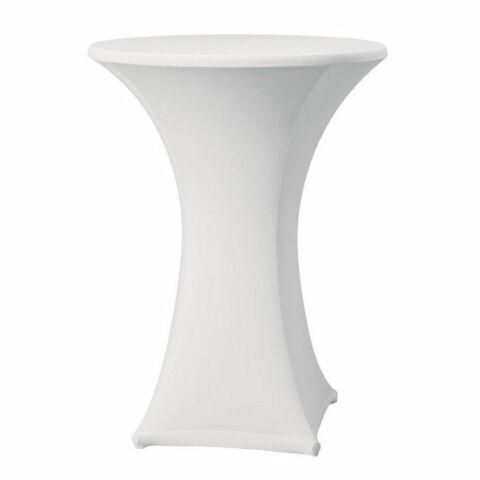 Tischhusse für Stehtische Samba weiß, 85cm-Gastro-Germany