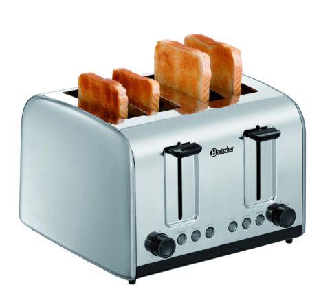 Bartscher 4 Scheiben Toaster TSBR40